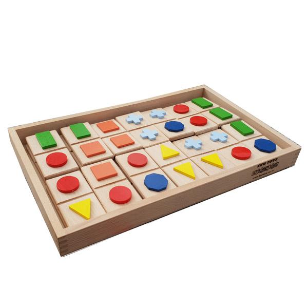 Taktilni Domino Geometrijski Oblici