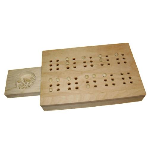 Braille sa Drvenim Ekserima -10 slova